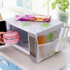 <b>1Pc</b> Romantic <b>Microwave oven</b> cover with 2 pouch dustproof cotton ...