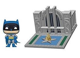 <b>Funko</b> 44469 <b>POP</b>. <b>Towns</b> 80th-Hall of Justice w/<b>Batman</b> Collectible ...