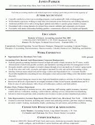 junior account resume example accounting clerk resume samples sample warehouse clerk resume