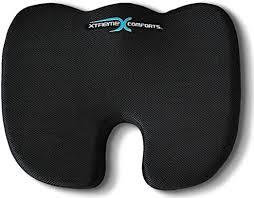 Coccyx Orthopedic Memory Foam Seat Cushion ... - Amazon.com