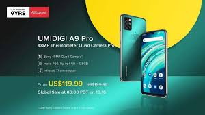 <b>UMIDIGI A9 Pro</b> launches with 48MP quad cameras for a great price ...