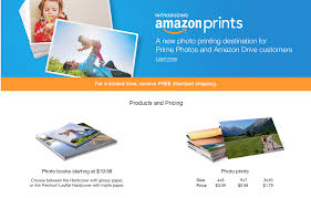 amazon threatens the photo printing services of shutterfly cvs amazon prints will only charge prime or drive customers 0 09 for 4r 4 x6 0 58 for 5r 5 x7 and 1 79 for 8r 8 x10