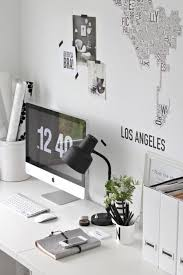 home inspiration black white work spaces black white home office study