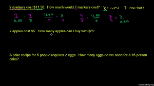 proportion word problems practice khan academy
