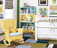 small baby nursery ideas for small spaces with yellow rattan chair baby nursery ideas small