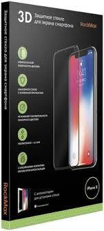 Купить <b>Защитное стекло RockMax</b> 3D Full Glue для Apple iPhone ...