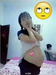 Image result for hình một cô gái đang mang bầu