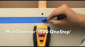 How to Use a Zircon MultiScanner i520 OneStep Stud Finder/Wall ...