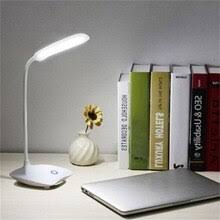 USB Rechargeable/Battery <b>LED</b> Desk <b>Lamp</b> Touch Dimming ...