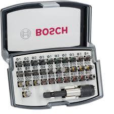 <b>Набор бит Bosch</b> Extra Hard <b>32 шт</b>. с цветовой кодировкой