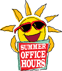 Image result for summer hours clipart sign