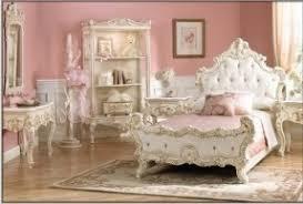 Princess Room Furniture Dreamlike Set Of Bedroom Furniture With Princess Theme Richly Decorated Panel Bed Is Finished Room O