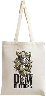 <b>Dem Buttocks</b> Viking Tote Bag: Amazon.co.uk: Shoes & Bags