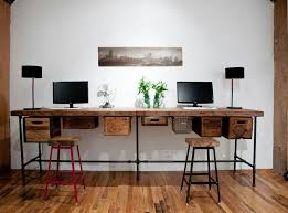 amazing desks reclaimed wood desks and home office furntiure inspiration for an eclectic home office amazing vintage desks home office
