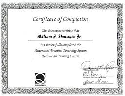 Free Templates Choose From 100s Of Examples Certificate Of Completion Templates Excel Pdf Formats