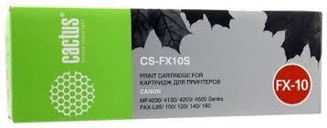 Отзывы <b>Картридж Cactus CS</b>-<b>FX10S</b> — ZGuru.ru