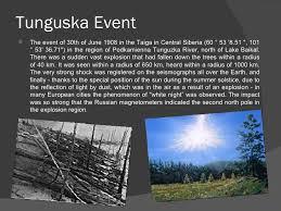 「Tunguska explosion」の画像検索結果