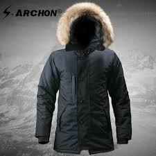 <b>M65 UK US</b> Men Hiking Flight Pilot Coat Army Clothes Casual ...