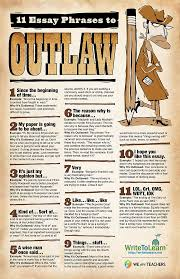 best images about weareteachers printables 11 essay phrases to outlaw