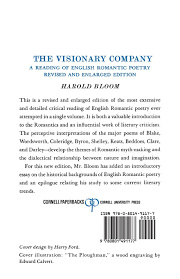 buy the visionary company reading of english r tic history buy the visionary company reading of english r tic history book online at low prices in the visionary company reading of english r tic