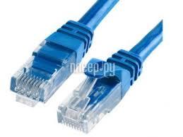 <b>Сетевой кабель</b> TV-<b>COM</b> UTP cat.5e 1m NP511-1-B Blue