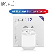 Original I12 <b>TWS Wireless Bluetooth</b> 5.0 <b>Earphone</b> Sports ...