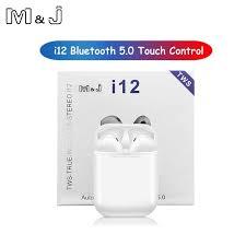 Original I12 <b>TWS Wireless Bluetooth</b> 5.0 Earphone Sports ...