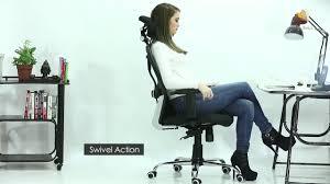 <b>Green</b> Soul New York <b>High Back</b> Mesh Office <b>Chair</b> - YouTube