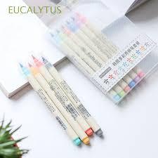 <b>10PCs</b>/<b>Set</b> HOT Stylish Artist <b>Colorful</b> Calligraphy Watercolor Pen ...