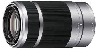 Объектив <b>Sony SEL-55210 серебристый</b> купить в Москве: цена ...