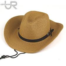 Men And Woman <b>Summer Sun Hat Straw</b> Cowboy Hat Folding ...