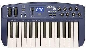 <b>MIDI</b>-клавиатура <b>M</b>-<b>Audio</b> MidAir 25