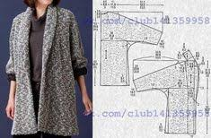 <b>Cocoon Jacket</b> - Multisize sewing pattern | БОХО | Пошив женской ...