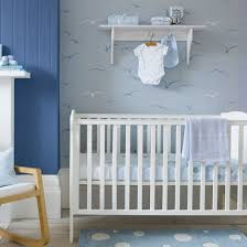 childs nursery with seagull patterned wallpaper boys bedrooms boys bedroom ideas bedroom cool bedroom wallpaper baby nursery