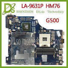 KEFU LA 9631P For <b>Lenovo</b> G500 Laptop motherboard VIWGP/GR ...