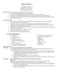 cna resume sample experience resume objective for cna icu resume bitrace co pediatric nurse objective resume nurse aide skills resume registered nurse career objective