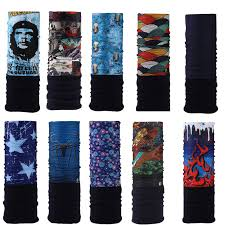 <b>Winter Fleece Bicycle Multi</b> Functional Bandana Headband ...