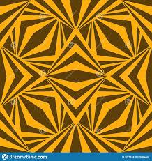 Art Abstract <b>Geometric African Yellow</b> Brown <b>Pattern</b> Stock Vector ...