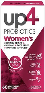 up4 Women's Advanced Care Probiotic Supplement ... - Amazon.com