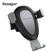 <b>Essager Gravity Car Phone</b> Holder For iPhone X Samsung Car Air ...