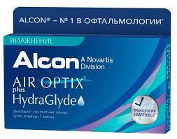 <b>Air</b> Optix (<b>Alcon</b>) Plus HydraGlyde (3 <b>линзы</b>) — купить по выгодной ...