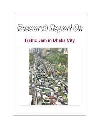 research on traffic jam traffic congestion traffic
