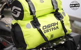 Motorcycle 500D <b>PVC</b> Waterproof Reflective Tail Duffle Bag Saddle ...