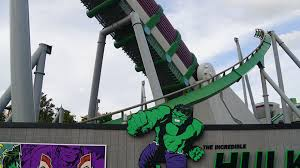Image result for new hulk ride