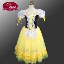 <b>Giselle Degas Ballet Tutu</b> Dress Peasant LD0003D Yellow Giselle ...