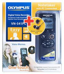 Купить <b>Диктофон OLYMPUS VN-541PC</b> + E39 Earphones 4 Gb ...