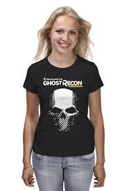 Футболка <b>классическая Printio Tom</b> Clancy's Ghost Recon ...
