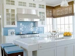 astonishing home kitchen decor ideas featuring personable painting kitchens cabinet and stylish blue tile backsplash under cabinet lighting backsplash home