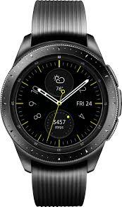 <b>Samsung Galaxy Watch</b> Smartwatch 42mm Stainless Steel Midnight ...