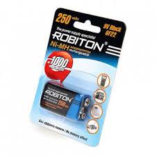 Аккумуляторы Крона Ni 8.4V - <b>Аккумулятор Крона Robiton</b> ...